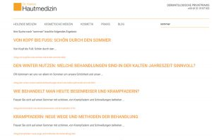 Praxis Blog Dr. Kasten Mainz, medizinische Beiträge für Patienten und Kunden