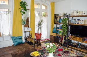 Eclectic Living im Altbau Homestory